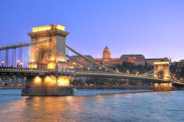 The Chain bridge,Budapest,Hungary