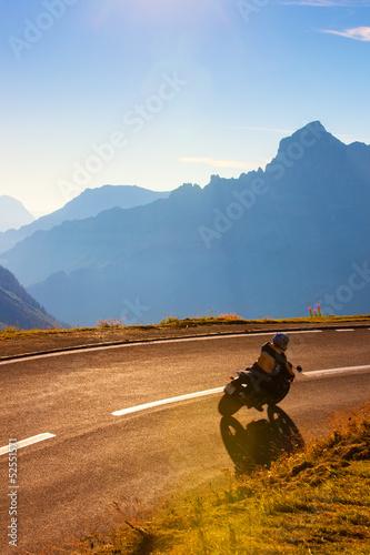 Fototapete Alps road