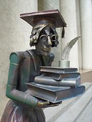 sculpture on the street