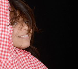 Beautiful Latino Woman