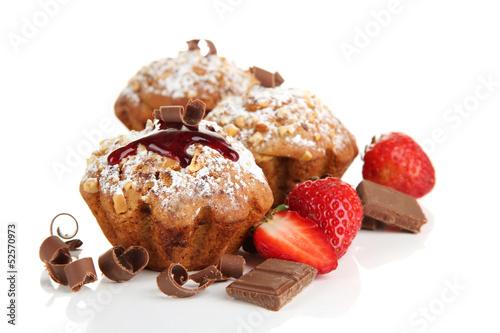 еда кекс клубника шоколад  № 143219 без смс