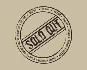 Grunge stamp sold out
