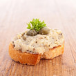 bread and tapenade