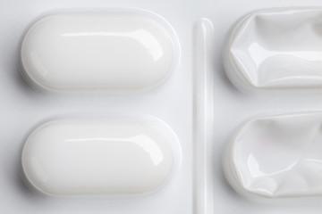 blister pack of tablets