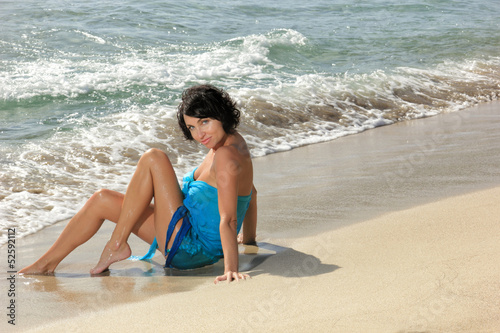 photo of girls at the beach № 16992