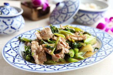 Chicken and Bok Choy