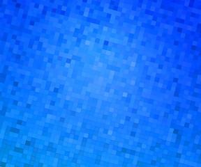 Pixels Blue Texture