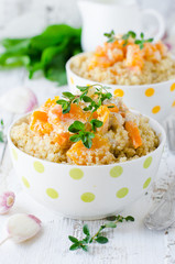 Quinoa with pumpkin