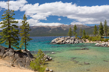 Wall Mural - Lake Tahoe beach