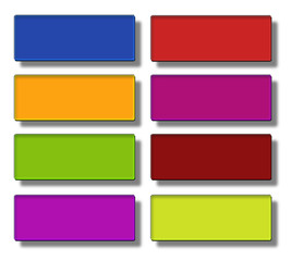 Web buttons- rectangle large #01