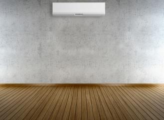Living room con condizionatore