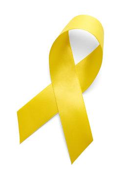 Yellow Support Ribbon