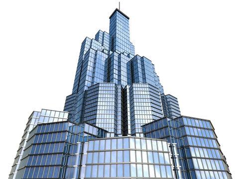 hi-tech skyscraper