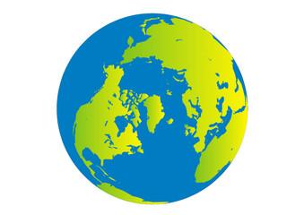 Globus - Nordhalbkugel