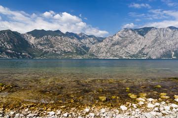Fototapete - Lago di Garda (Garda lake)
