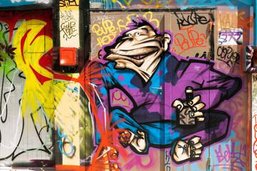 Graffiti personnage