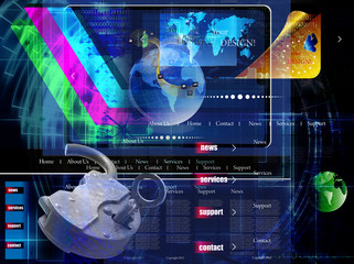 Internet Network website. Safety