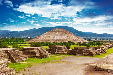 Photo sur Plexiglas Mexique Pyramids of Mexico