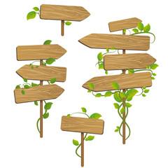 Panneaux à feuilles