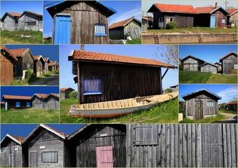 cabanes ostréicoles.