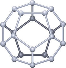 Dodecahedron 3D ( Dodekaeder 3D )