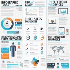 Big set of infographic elements vector EPS10