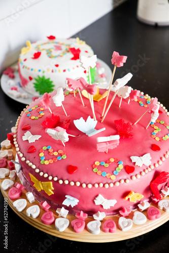 Как украсить торт марцепаном фото