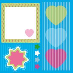 scrapbooking,motif,forme,bébé,texture,rayure,symbole,papier