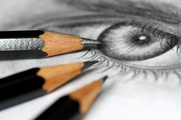 Drawing pencils