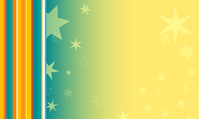 Tło kolorowe z gwiazdkami i paskami