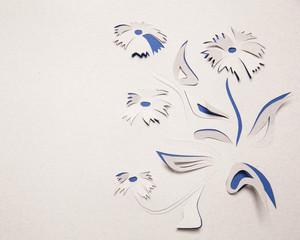 Origami flower