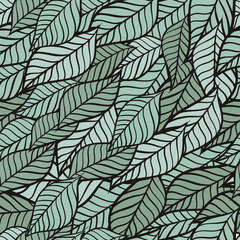 Petal, seamless background. Vector.