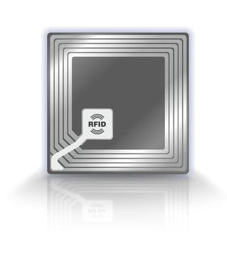 RFID Chip Symbol