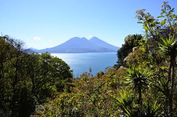 Vulkan Atitlan See