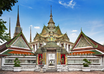 Wat Pho temple in Bangkok,No.1 attractions in Thailand