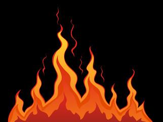 Stylized fire