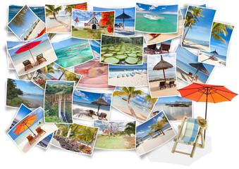concept vacances détente à l'île Maurice