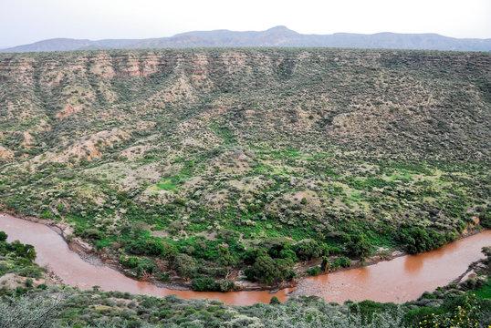 Canyon at Awash National Park (Ethiopia)