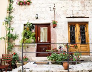 Doors on Kotor Porch