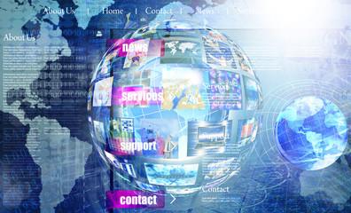 Programming Internet website network