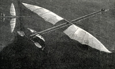 Planophore of Alphonse Pénaud (1871)