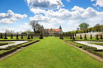 Schloss Hundisburg bei Magdeburg, Deutschland