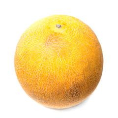 Fresh Melon on white background,