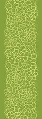Vector abstract green natural texture vertical seamless pattern