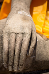 right hand of buddha image