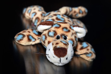 Leopard toy