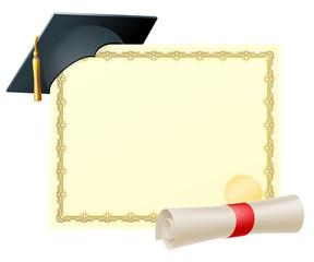 Graduate certificate background
