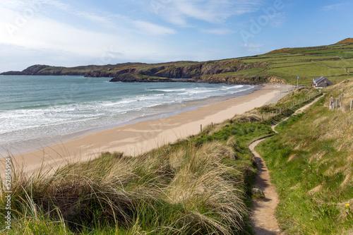 Fototapete Wales Coast Path Whitesands Bay Pembrokeshire UK