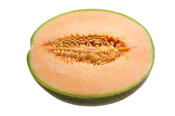 Half of Rock Melon
