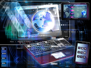 Internet website network